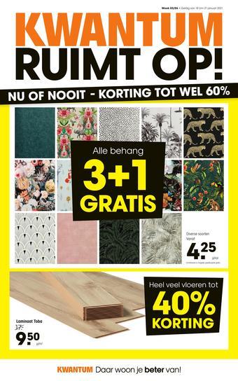 Kwantum reclame folder (geldig t/m 31-01)