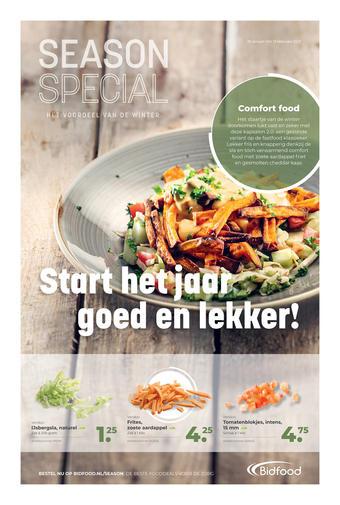Bidfood reclame folder (geldig t/m 31-01)