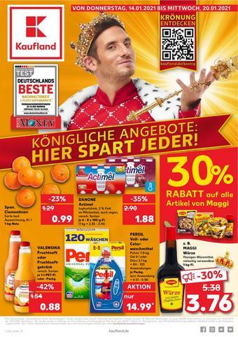 Kaufland reclame folder (geldig t/m 20-01)