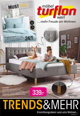 Möbel Turflon Prospekt (bis einschl. 23-01)