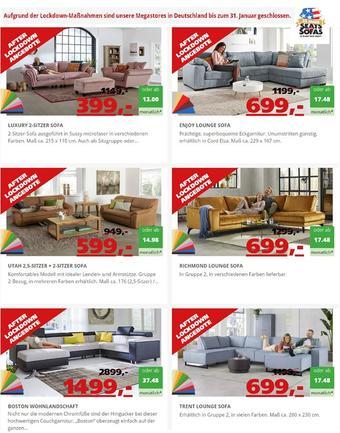 Seats and Sofas Prospekt (bis einschl. 31-01)