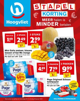 Hoogvliet reclame folder (geldig t/m 26-01)