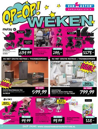 Van Asten BabySuperstore reclame folder (geldig t/m 28-01)
