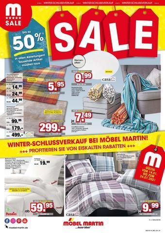 Möbel Martin Prospekt (bis einschl. 24-01)