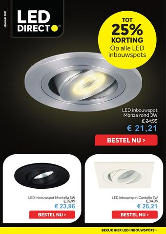 LED Direct reclame folder (geldig t/m 31-01)