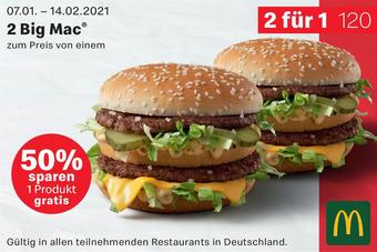 McDonald's Prospekt (bis einschl. 14-02)