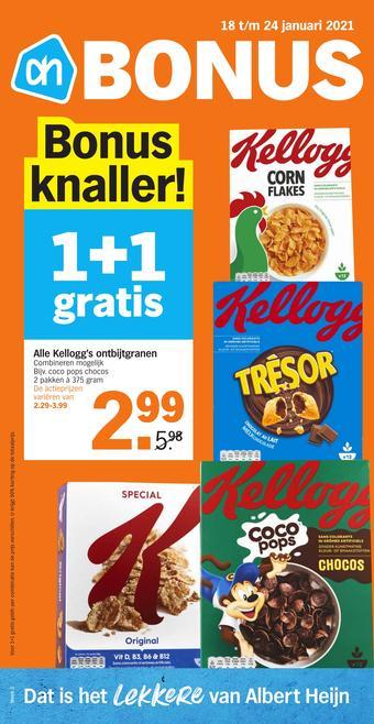 Albert Heijn reclame folder (geldig t/m 24-01)