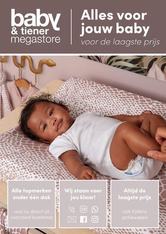 Baby & Tiener reclame folder (geldig t/m 24-01)