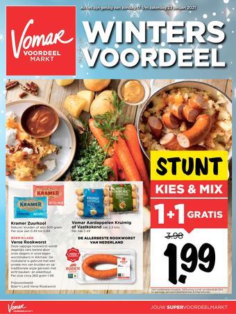Vomar reclame folder (geldig t/m 23-01)