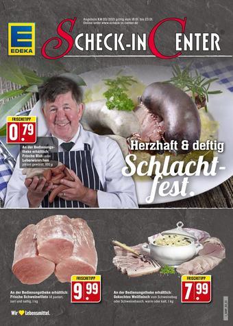 Scheck-in-Center Prospekt (bis einschl. 23-01)