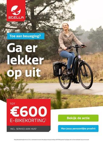 Stella fietsen reclame folder (geldig t/m 30-01)