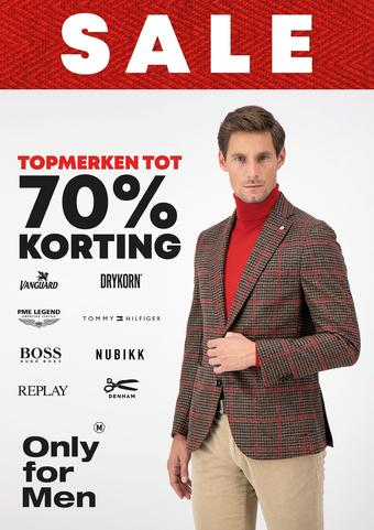 Only for Men reclame folder (geldig t/m 24-01)