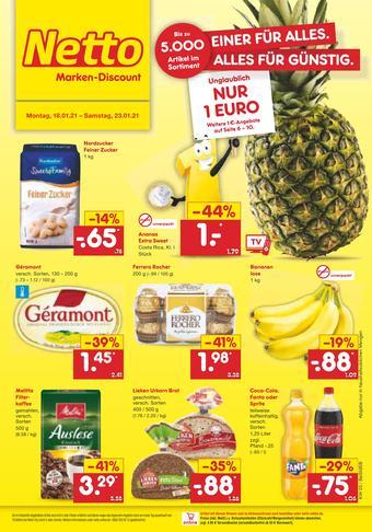 Netto Marken-Discount Prospekt (bis einschl. 23-01)
