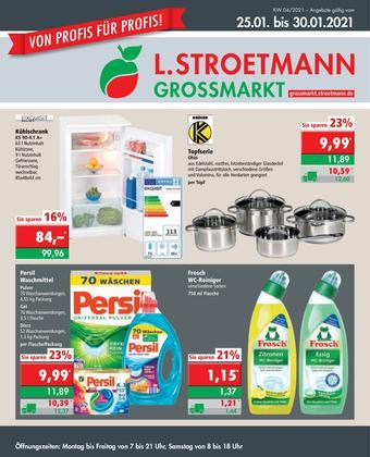 L. STROETMANN GROSSMARKT Prospekt (bis einschl. 30-01)