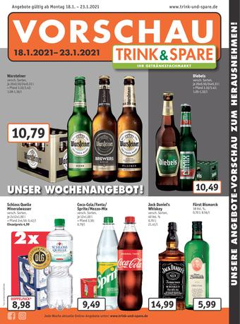 Trink und Spare Prospekt (bis einschl. 23-01)