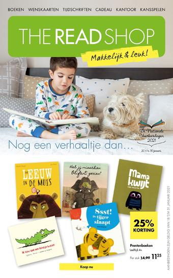 The Read Shop reclame folder (geldig t/m 31-01)