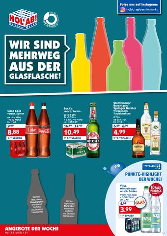 Hol'ab Getränkemarkt Prospekt (bis einschl. 23-01)