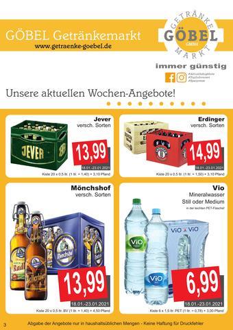 Getränke Göbel Prospekt (bis einschl. 30-01)