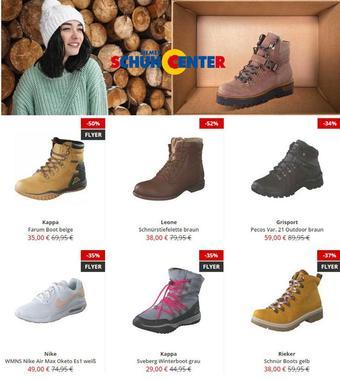 Siemes Schuhcenter Prospekt (bis einschl. 24-01)