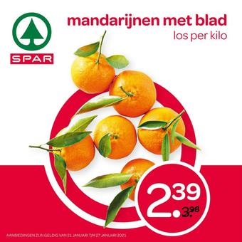 Spar reclame folder (geldig t/m 27-01)