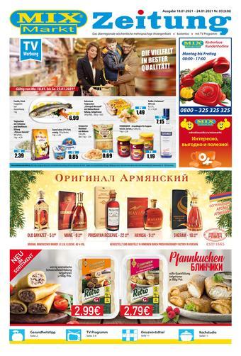 Mix Markt Prospekt (bis einschl. 24-01)