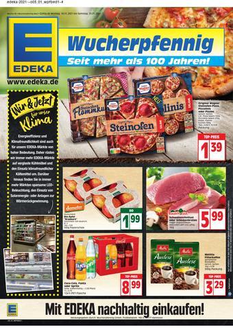 EDEKA Wucherpfennig Prospekt (bis einschl. 23-01)