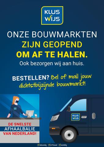 Kluswijs reclame folder (geldig t/m 31-01)