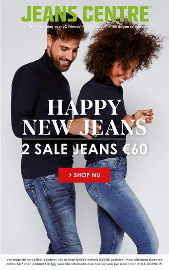 Jeans Centre reclame folder (geldig t/m 31-01)
