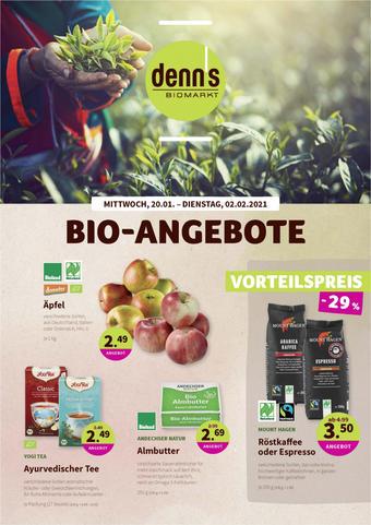 denn's Biomarkt Prospekt (bis einschl. 02-02)