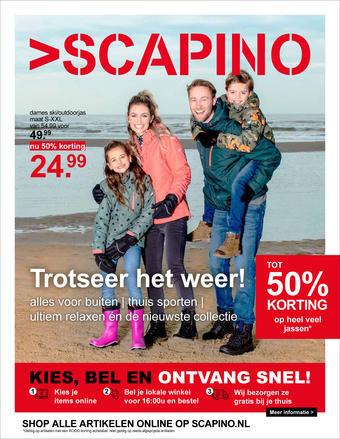 Scapino reclame folder (geldig t/m 31-01)