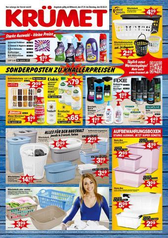 Krümet Sonderposten Prospekt (bis einschl. 02-02)