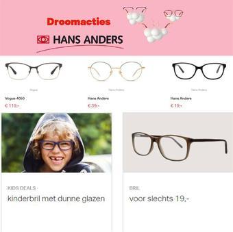 Hans Anders reclame folder (geldig t/m 31-01)