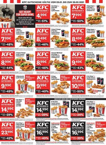 KFC Prospekt (bis einschl. 28-02)