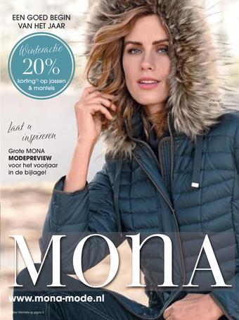 Mona Mode reclame folder (geldig t/m 31-03)