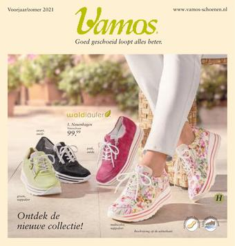 Vamos Schoenen reclame folder (geldig t/m 31-03)
