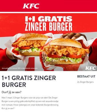 KFC reclame folder (geldig t/m 31-01)