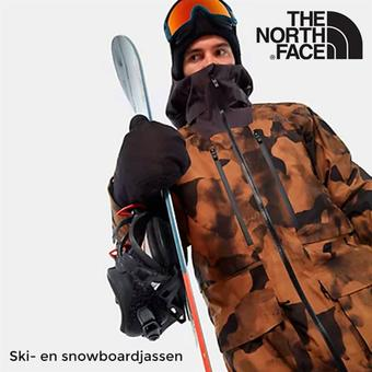 The North Face reclame folder (geldig t/m 28-02)