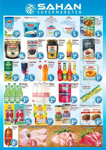 Sahan Supermarkten reclame folder (geldig t/m 31-01)