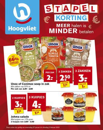 Hoogvliet reclame folder (geldig t/m 02-02)