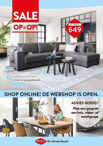 Profijt Meubel reclame folder (geldig t/m 28-01)