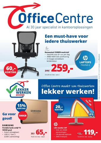 Office Centre reclame folder (geldig t/m 02-02)