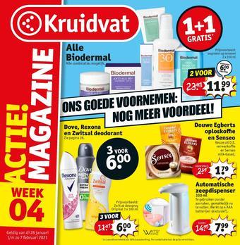 Kruidvat reclame folder (geldig t/m 07-02)