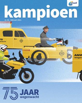 ANWB reclame folder (geldig t/m 28-02)