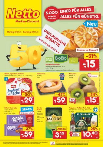 Netto Marken-Discount Prospekt (bis einschl. 30-01)