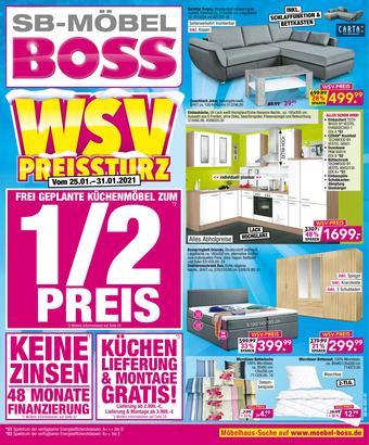 Möbel Boss Prospekt (bis einschl. 31-01)