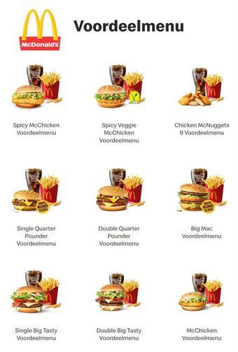 McDonald's reclame folder (geldig t/m 30-06)