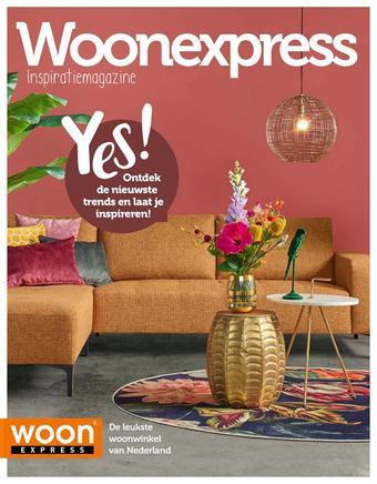 Woonexpress reclame folder (geldig t/m 28-02)