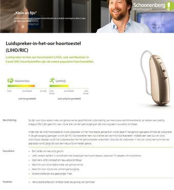 Schoonenberg reclame folder (geldig t/m 28-02)