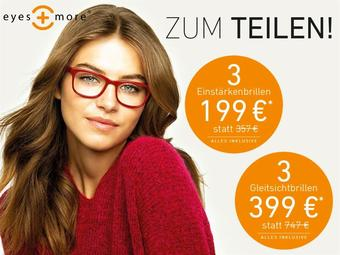 eyes + more reclame folder (geldig t/m 31-01)