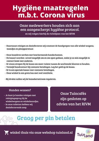 Tuinland reclame folder (geldig t/m 30-06)